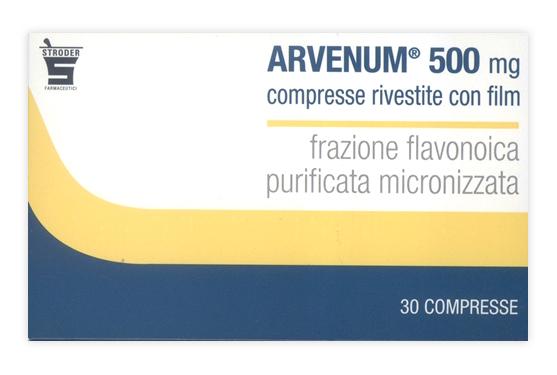 ARVENUM 500*30CPR RIV 500MG