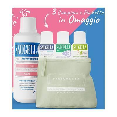 Saugella dermoliquido + OMAGGIO Pochette