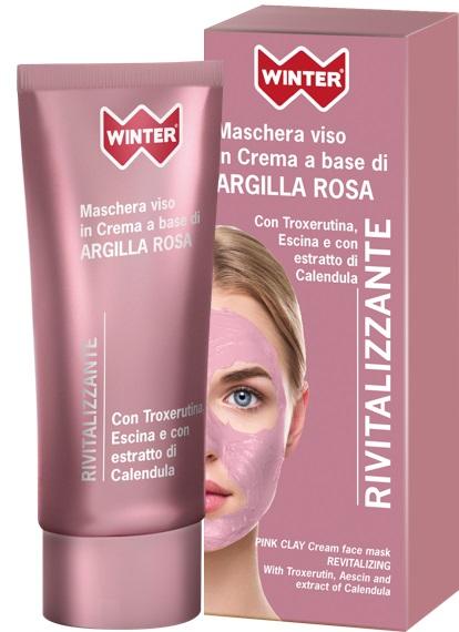 WINTER ARGILLA MASCHERA ROSA RIVITALIZZANTE 50ML