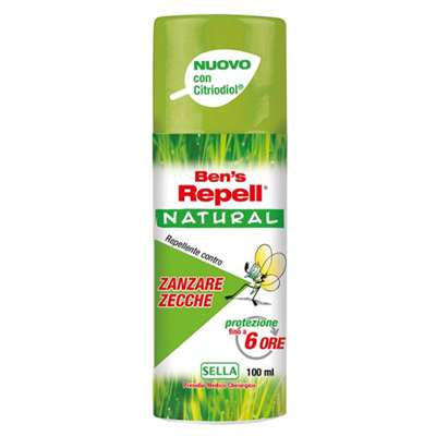 Ben's repell natural contro zanzare e zecche 100ml