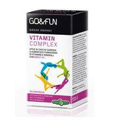 GO & FUN VITAMIN COMPLEX 30CPR