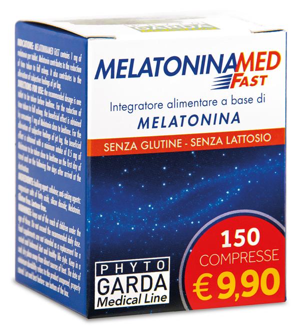MELATONINAMED FAST 150CPR