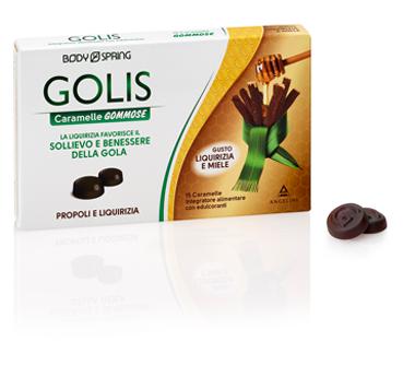 BODY SPRING GOLIS CARAMELLE GOMMOSE LIQUIRIZIA/MIELE 30G