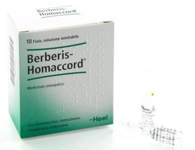 BERBERIS HOMAC 10F 1,1ML HEEL