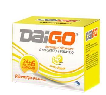 DAIGO MAGNESIO POTASSIO 24+6 BUSTINE OMAGGIO LIMONE 240G