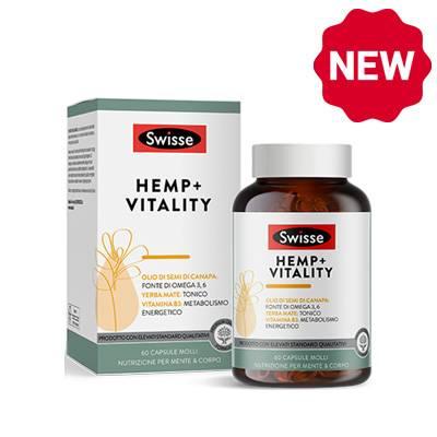 Swisse Hemp+vitality NOVITA'