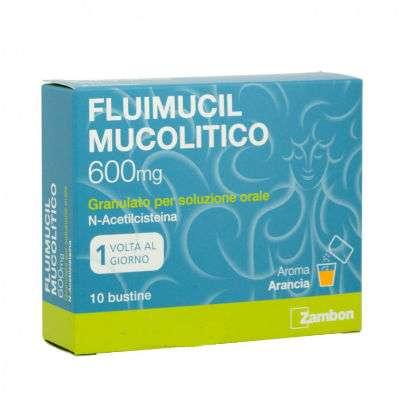 Fluimucil 600 10bs