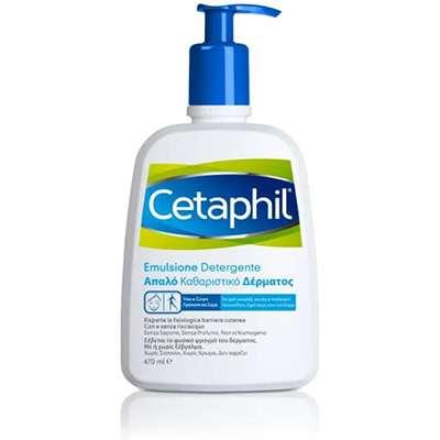 Cetaphil Emulsione detergente viso e corpo 470 ml