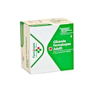 GLICEROLO FARMAKOPEA 6 CONT. MONODOSE