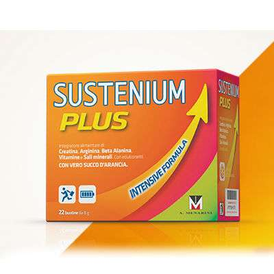 Sustenium plus int form 22 buste