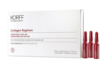 KORFF COLLAGEN AGE FILLER FIALE TONIFICANTI 7 GIORNI 7 FIALE DA 1 ML