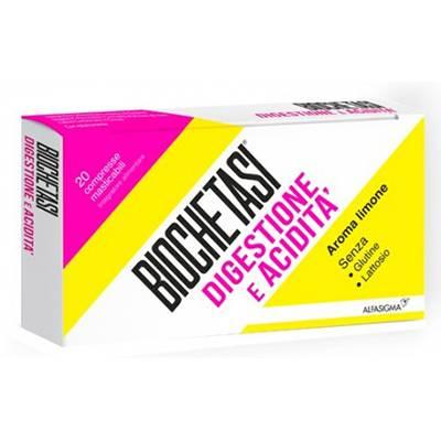 Biochetasi digestione e acidità 20cpr