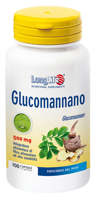 LONGLIFE GLUCOMANNANO 100CPS