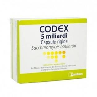 CODEX*12CPS 5MLD 250MG