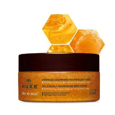 Nuxe Reve de Miel esfoliante nutriente corpo