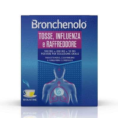 Bronchenolo tosse, influenza e raffreddore 10bst