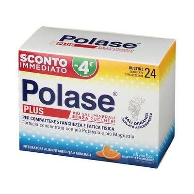 Polase plus buste 24 buste sconto immediato -€4