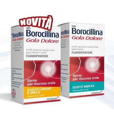 NeoBorocillina Gola Dolore spray