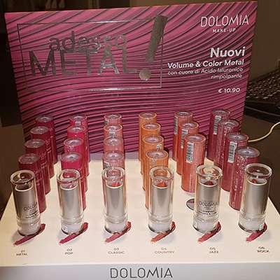 Dolomia volume & Color metal