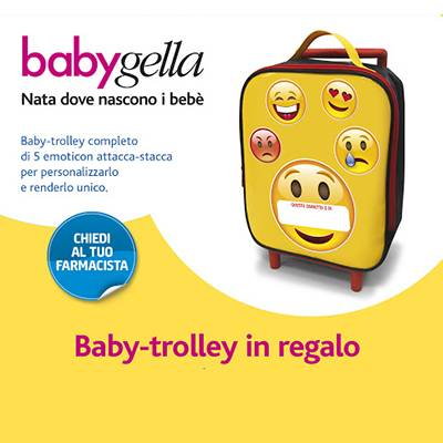 Babygella zainetto baby-trolley OMAGGIO