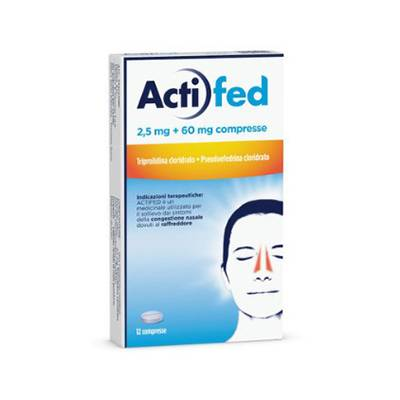 Actifed 12cpr