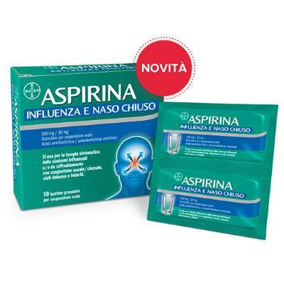 Aspirina Influenza e Naso Chiuso 10bst