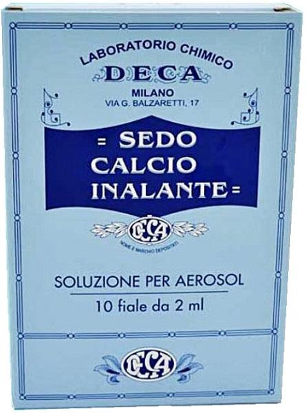 SEDO CALCIO INALANTE 10F 2ML