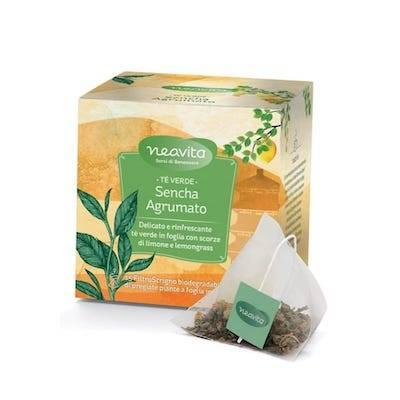 Tè verde Sencha Agrumato Filtroscrigno