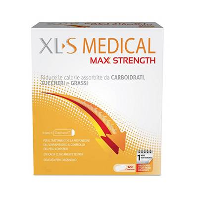 XL-S Medical Max Strength 120cpr