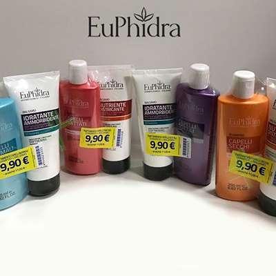 Euphidra shampoo+balsamo
