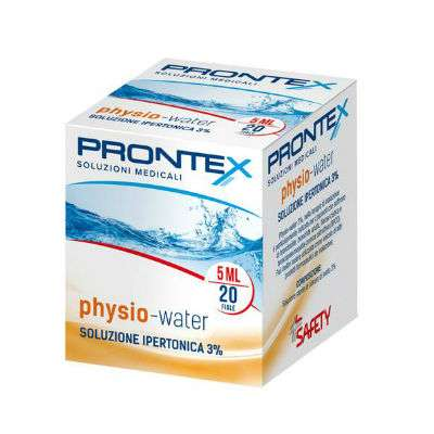 Physio-water ipertonica 20fl 5ml