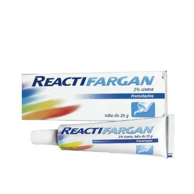 *Reactifargan crema 20g