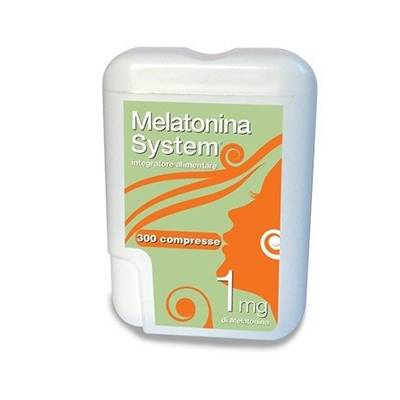 MELATONINA SYSTEM 300cpr