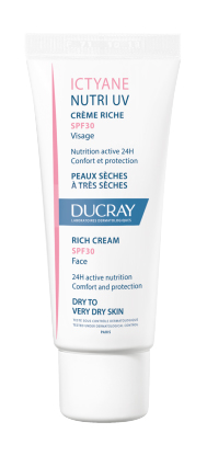 DUCRAY ICTYANE NUTRI UV CREMA RICCA VISO SPF30 40ML