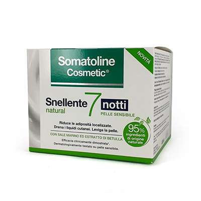 Somatoline snellente 7 notti natural 400ml