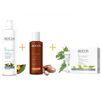 Bioclin trattamento completo capelli con forfora grassa o secca