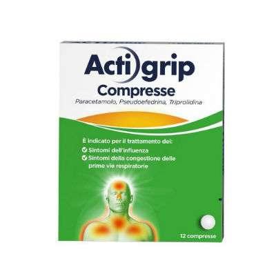 Actigrip 12 compresse rivestite