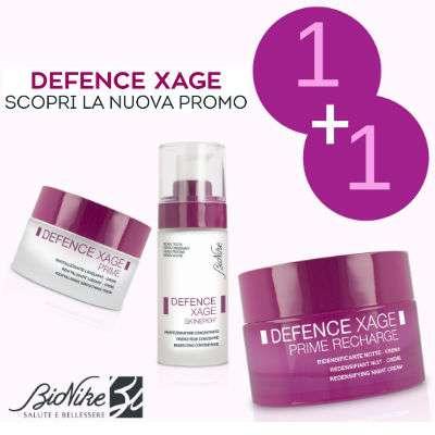 Bionike defence xage offerta 1+1 su creme viso