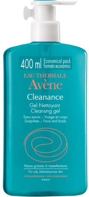 AVENE CLEANANCE GEL DETERGENTE PURIFICANTE 400ML