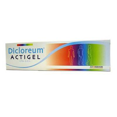 DICLOREUM ACTIGEL*GEL 50G 1%