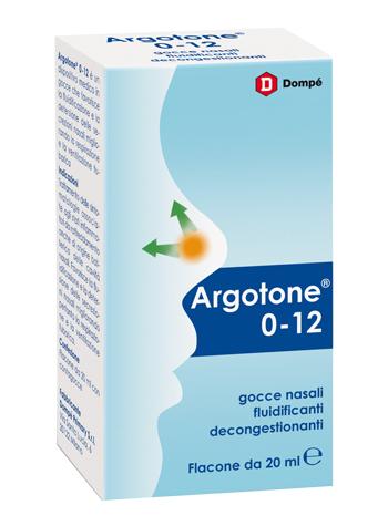 ARGOTONE 0-12 SOL NASALE 20ML