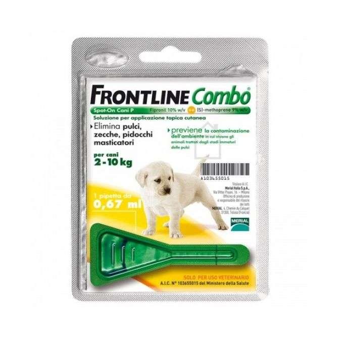 FRONTLINE COMBO 2-10KG 1PIPETTA