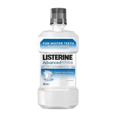 LISTERINE ADV WHITE 500ML