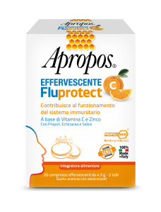 APROPOS FLUPROTECT C 20CPR EFFERVESCENTI