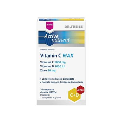 Active Nutrient Vitamina C alto-dosata