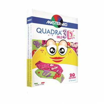 M-AID QUADRA3D CER GIRL ASSORT