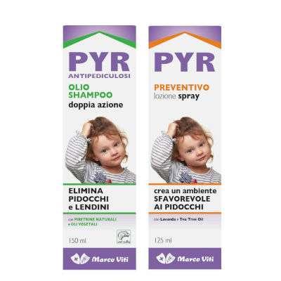 PYR olio shampoo + spray preventivo