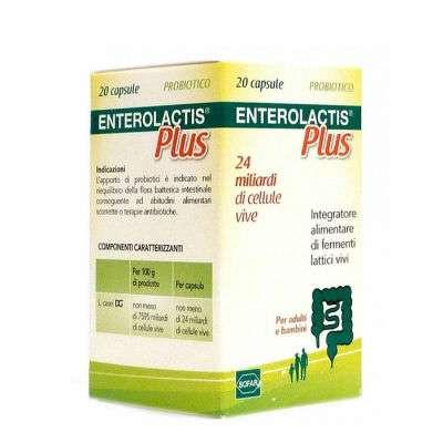 Enterolactis plus capsule da 24 mld