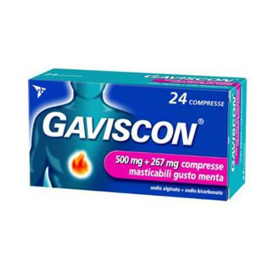 Gaviscon 24cpr