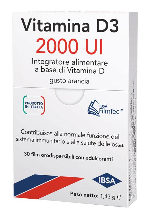 VITAMINA D3 IBSA 2000UI 30FILM